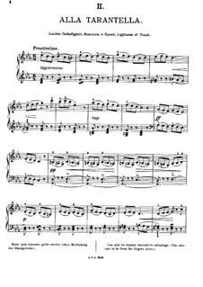 Twelve Etudes, Op.39: No.2 Alla Tarantella by Edward MacDowell