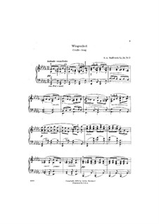 Four Pieces, Op.24: No.3 Cradle Song by Edward MacDowell