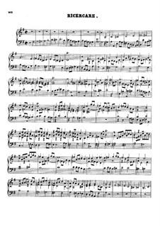 Ricercar in G Major: Ricercar in G Major by Johann Nepomuk Hummel