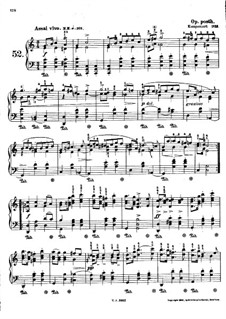 Mazurka in C Major, B.82 KK IVb/3: For piano by Frédéric Chopin