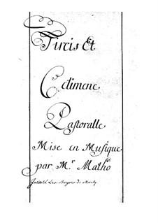 Tircis et Célimène: Tircis et Célimène by Jean Baptiste Matho