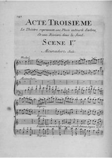 Daphnis et Alcimadure: Act III by Jean-Joseph Cassanéa de Mondonville