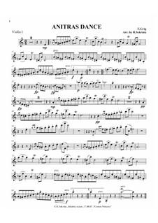 Suite No.1. Anitra's Dance, Op.46 No.3: For string quartet by Edvard Grieg