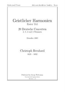 Ach mein herzliebes Jesulein: Ach mein herzliebes Jesulein by Christoph Bernhard