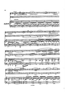 Trio for Flute, Cello and Piano, Op.45: Movement II – full score by Louise Farrenc