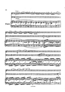 Trio for Flute, Cello and Piano, Op.45: Movement IV – full score by Louise Farrenc