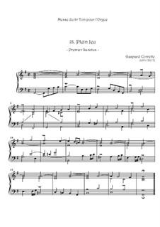Mass: No.18 Plein Jeu by Gaspard Corrette