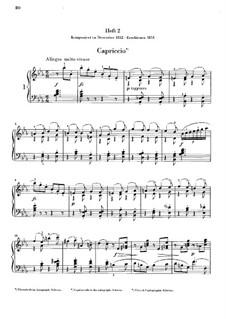 Aquarelles, Op.19: No.6-10 by Niels Wilhelm Gade