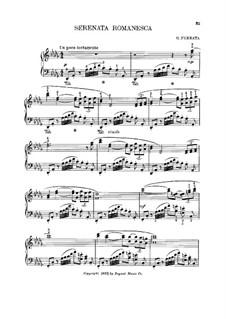 Serenata Romanesca in D Flat Major: Serenata Romanesca in D Flat Major by Giuseppe Ferrata