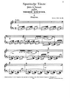 Playera and Zapateado, Op.23: For piano by Pablo de Sarasate