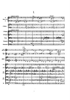 Symphony No.9 in D Major: Full score by Gustav Mahler