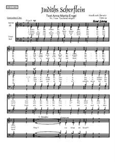 Nr.4: Mein Traum Mathilde, Op.93: Für gemischten Chor by Bernd Gehring