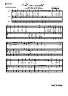 Die 5 Jahreszeiten Nr.1: Zum Frühling: Für gemischten Chor, Op.102 Nr.1 by Oliviere Lebrierre