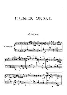 Premier ordre : Complete set by François Couperin