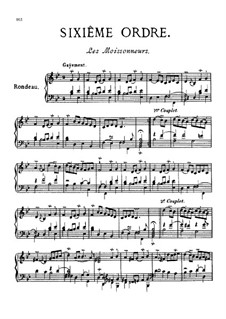 Sixième ordre : Complete set by François Couperin
