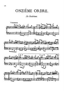 Onzième ordre : Onzième ordre by François Couperin