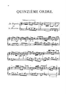 Quinzième ordre: Quinzième ordre by François Couperin