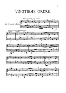 Vingtième ordre: Vingtième ordre by François Couperin