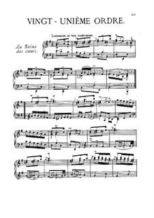 Vingt-unième ordre: Vingt-unième ordre by François Couperin