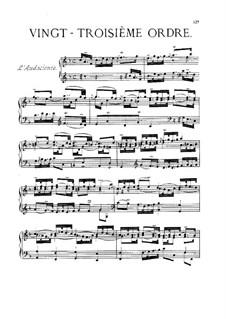 Vingt-troisième ordre : Complete set by François Couperin