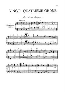 Vingt-quatrième ordre : Vingt-quatrième ordre by François Couperin