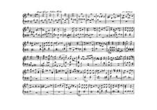 Double Fugue for Organ: Double Fugue for Organ by Johann Christoph Kellner