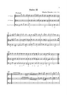 Suite No.2 in G Minor: Suite No.2 in G Minor by Marin Marais