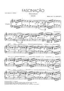 Fascination: For voice and piano by Fermo Dante Marchetti
