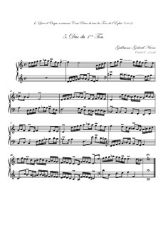 Premier livre d'orgue: No.5 Duo by Guillaume-Gabriel Nivers
