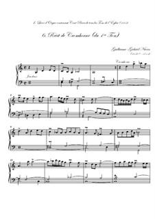 Premier livre d'orgue: No.6 Récit de cromhorne by Guillaume-Gabriel Nivers