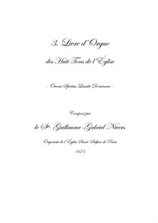 Troisième livre d'orgue: No.1 Prelude by Guillaume-Gabriel Nivers