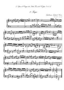 Troisième livre d'orgue: No.2 Fugue by Guillaume-Gabriel Nivers