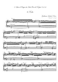 Troisième livre d'orgue: No.6 Écho by Guillaume-Gabriel Nivers
