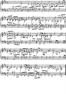 Fugue in D Major: Fugue in D Major by Johann Pachelbel
