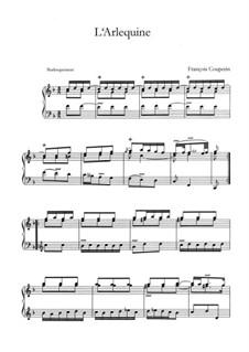 Vingt-troisième ordre : L'arlequine by François Couperin