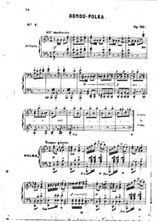 Rondo-Polka, Op.20: Rondo-Polka by Jean-Henri Ravina