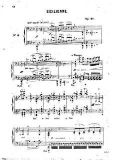 Sicilienne, Op.21: Sicilienne by Jean-Henri Ravina
