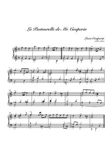 La pastourelle: La pastourelle by Louis Couperin