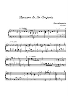 Chaconne in F Major: Chaconne in F Major by Louis Couperin