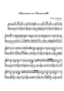 Chaconne or Passacaglia: Chaconne or Passacaglia by Louis Couperin