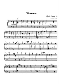 Chaconne in G Minor: Chaconne in G Minor by Louis Couperin