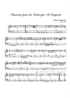 Fantasia No.1 in D Minor: Fantasia No.1 in D Minor by Louis Couperin