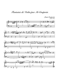 Fantasia No.2 in D Minor: Fantasia No.2 in D Minor by Louis Couperin