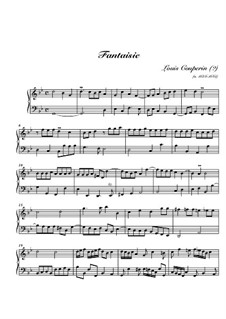 Fantasia in G Minor for Harpsichord: Fantasia in G Minor for Harpsichord by Louis Couperin