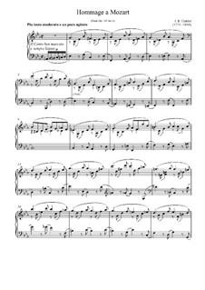 Hommage a Mozart: Hommage a Mozart by Johann Baptist Cramer