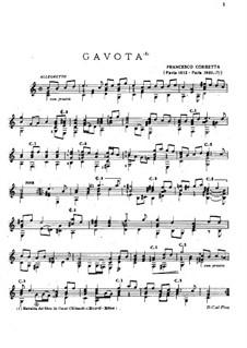 Gavotte in C Major: Gavotte in C Major by Francesco Corbetta