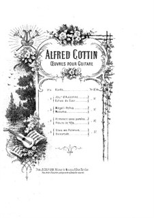 Two Little Pieces: Two Little Pieces by Alfred Cottin
