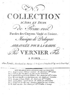 Primerose. Selected Duos and Arias: Primerose. Selected Duos and Arias by Nicolas-Marie d'Alayrac