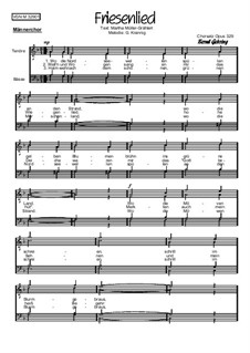 Friesenlied: Für Männerchor, Op.329 by folklore