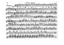 Sonata No.12 'La Folia': Arrangement for flute and piano – solo part by Arcangelo Corelli
